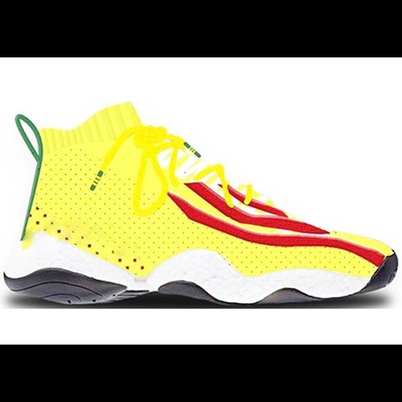 17eb40262c Pharrell adidas crazy BYW LVL 1 NWT